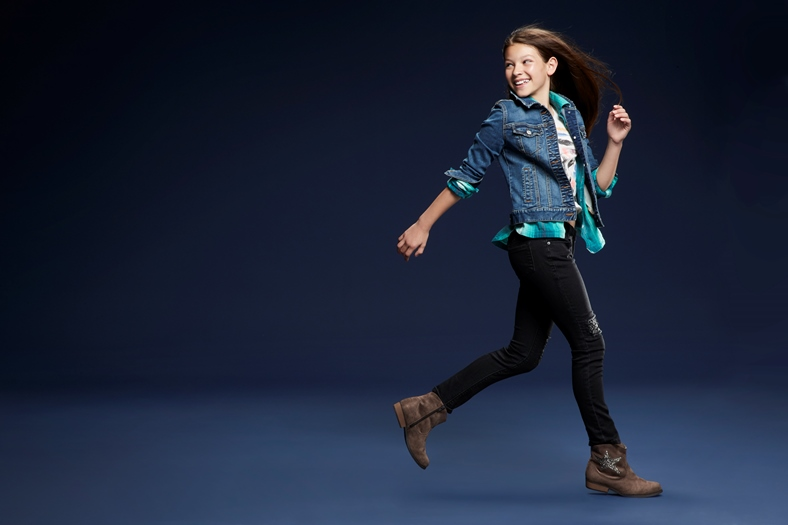 Denim is always big for back to school and denim jackets are on trend.