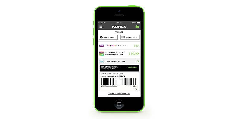 Say hello to the Kohl's App – your personal store associate.