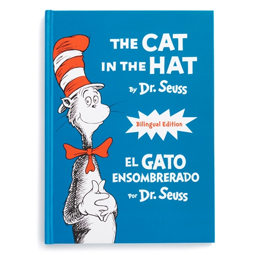 Kohl's Cares The Cat in the Hat bilingual book