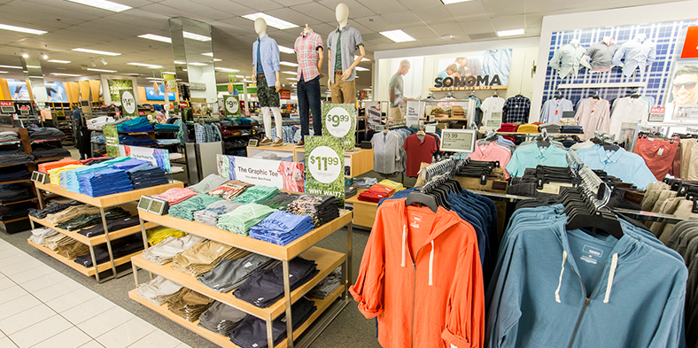 Sonoma Goods For Life™ for Men Updated In-Store Experience