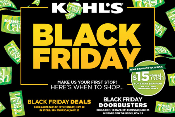 Image result for kohls black friday
