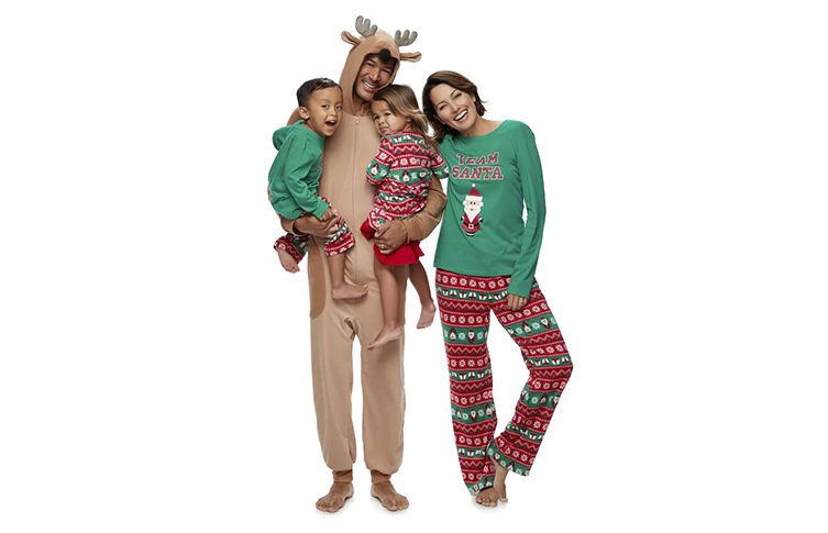 Create a Holiday Tradition With Matching Jammies For Your Families® 5794e3a92