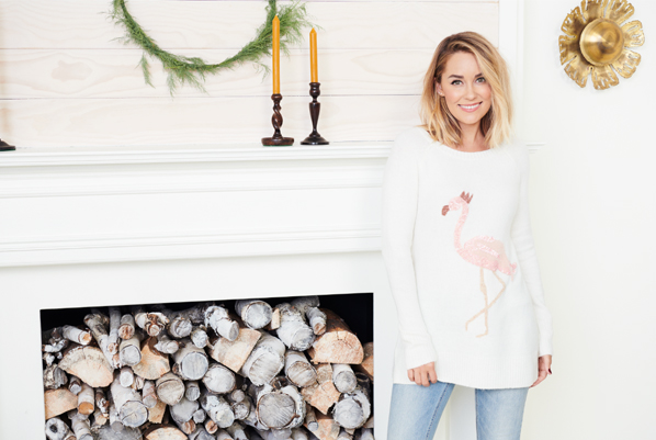 c16241921d8a54 Holiday Decorating with LC Lauren Conrad