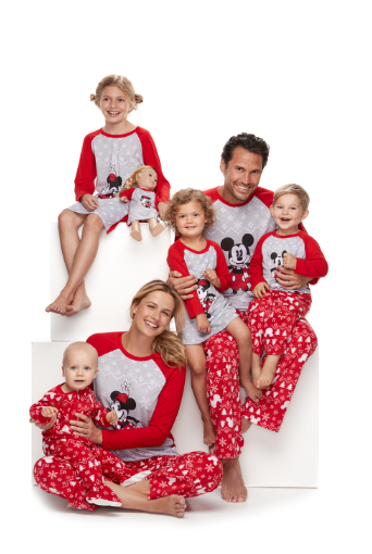 77c40a7cb2 Disney s Mickey   Minnie Mouse Matching Family Pajamas by Jammies For Your  Families