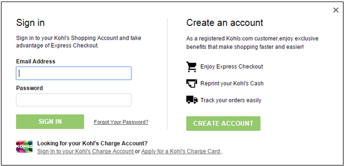 answers detail  kohls charge payment options