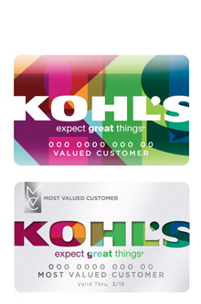 kohl 39 s charge cards more benefits